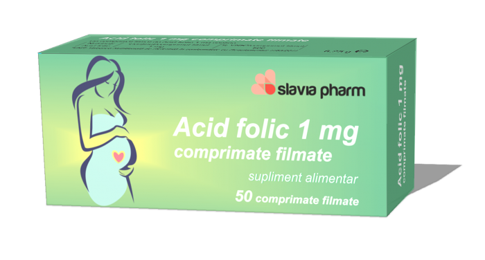 Acid folic 3 d