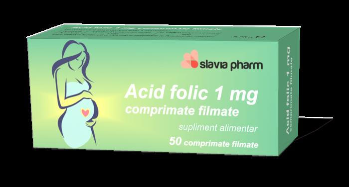 Acid folic 3 d